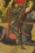 c1480 jouster in field armour plus helm