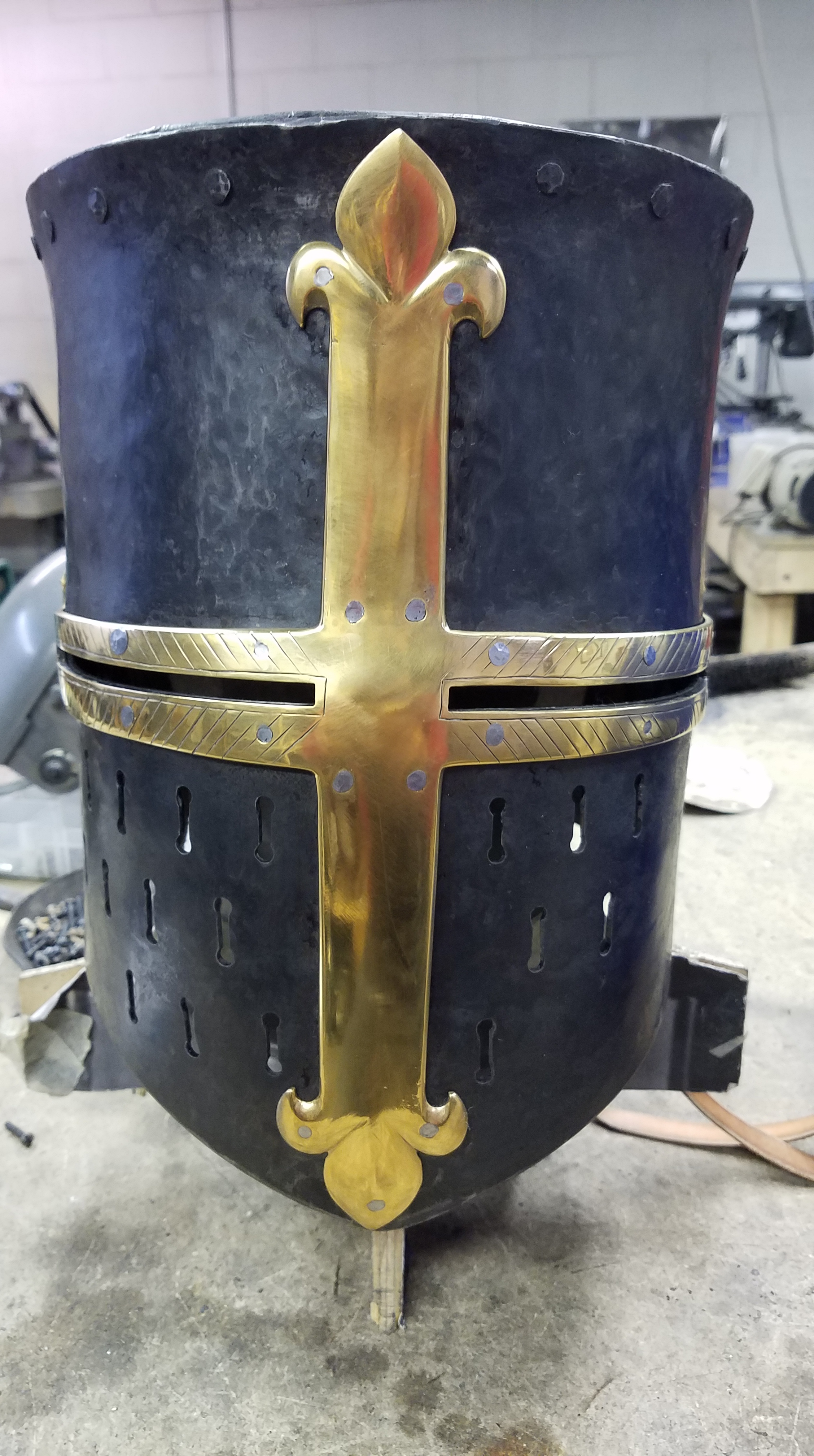 13th Century Great Helms   Davis Reproductions